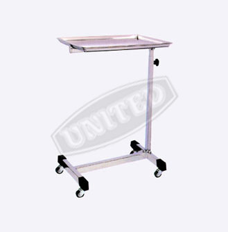 Mayos Instrument Trolley with S. S. tray