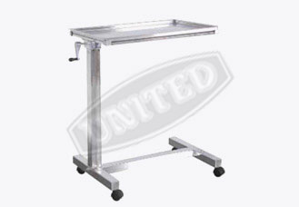 Mayos Instrument trolley (Mechanically)